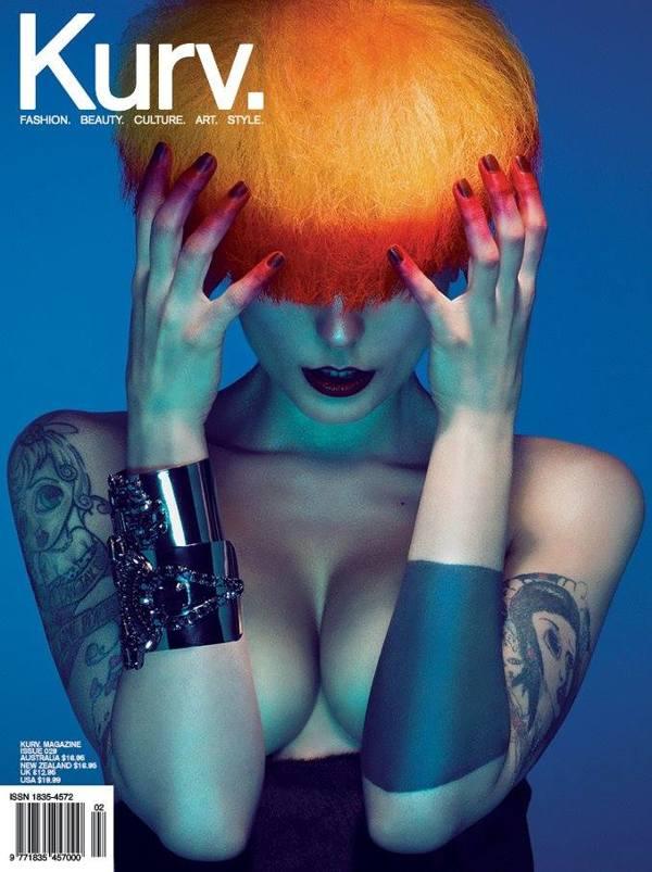 Quentin Caffier: Echolors, for Kurv Magazine