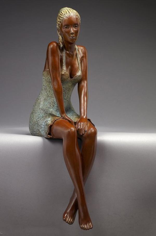 Brigitte Teman, scultura