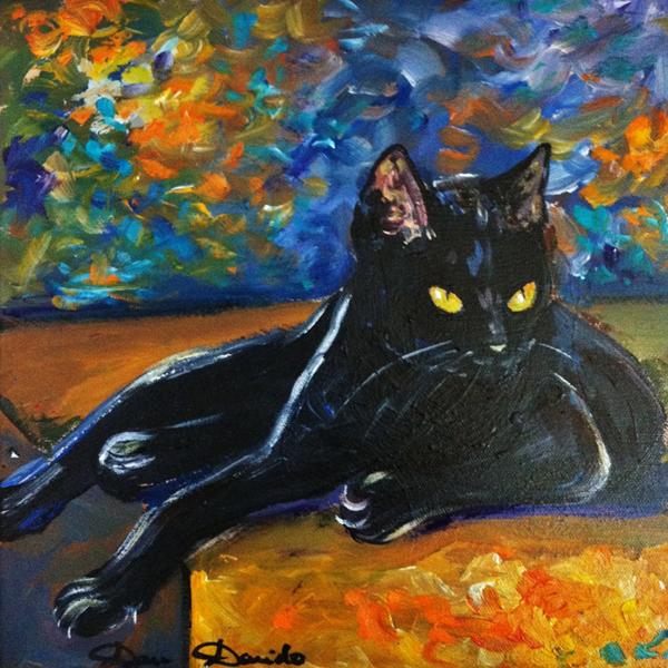 Dam Domido, paintings