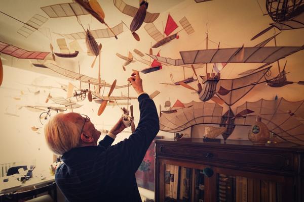 Luigi Prina: The Ships That Sail Through The Clouds