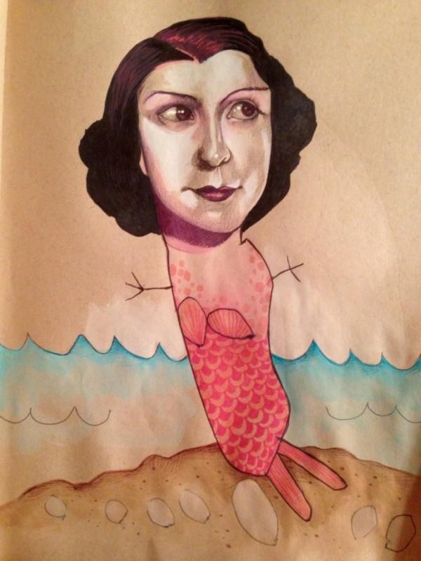 Mica Angela Hendricks, illustration