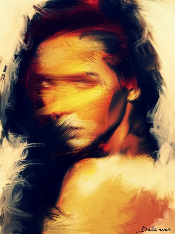 Omar Delawer, paintings