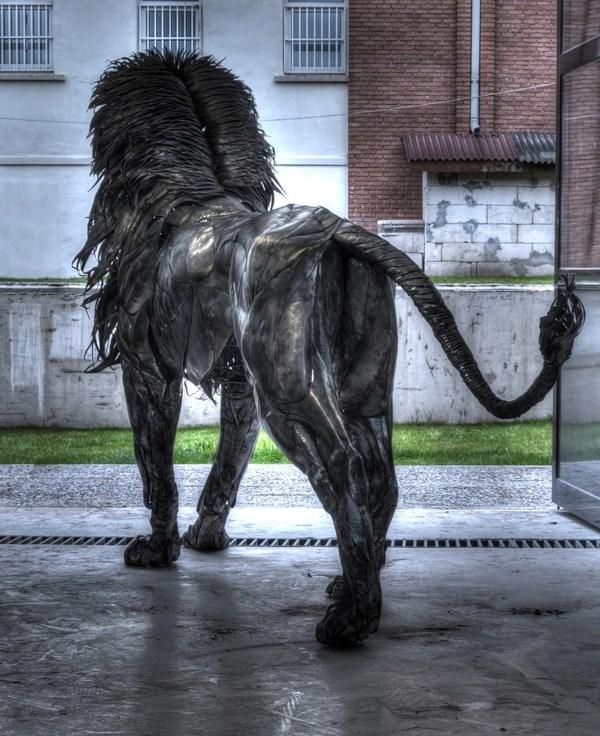 Aslan, sculpture by Selçuk Yilmaz