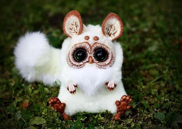 Creepy yet adorable fantasy dolls by Santani