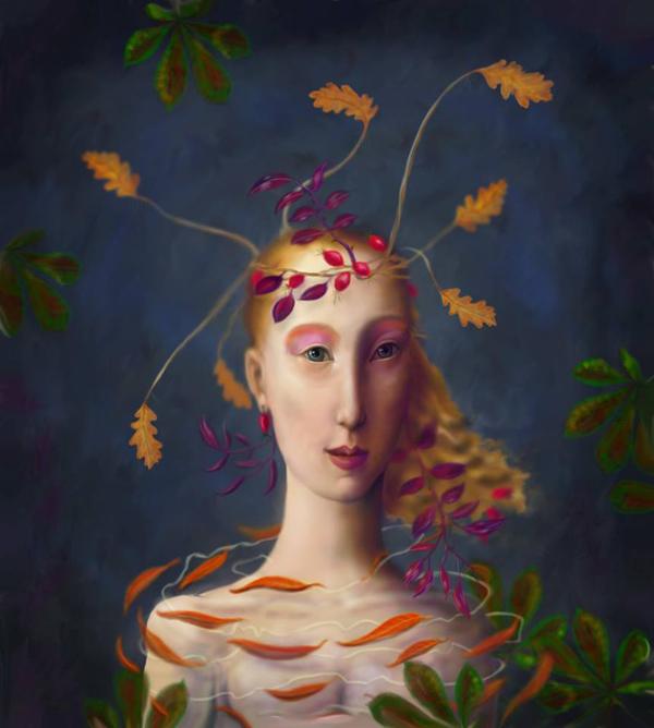 Digital paintings by Kevin Low