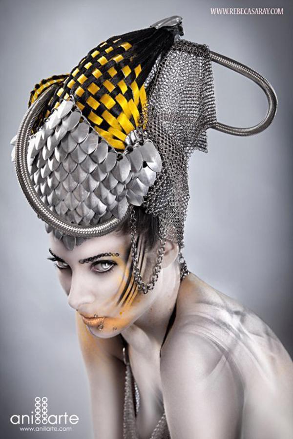 Bodypainting for Rebeca Saray by Creative Studio Kimatica