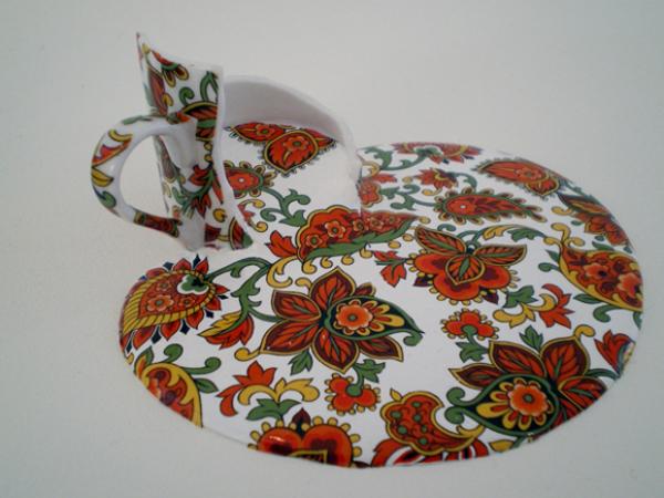 Melted Ceramics by Livia Marin