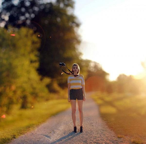 Surreal and conceptual self portraits by Rachel Baran