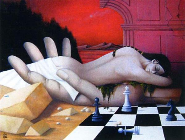 Pierre Chevassu, paintings