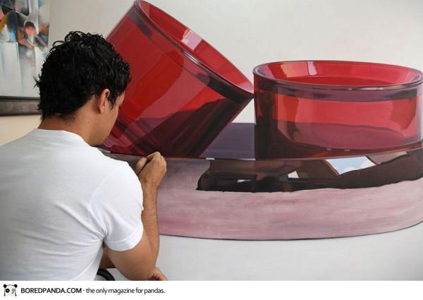 Ruddy Taveras, increadibly realistic oil paintings