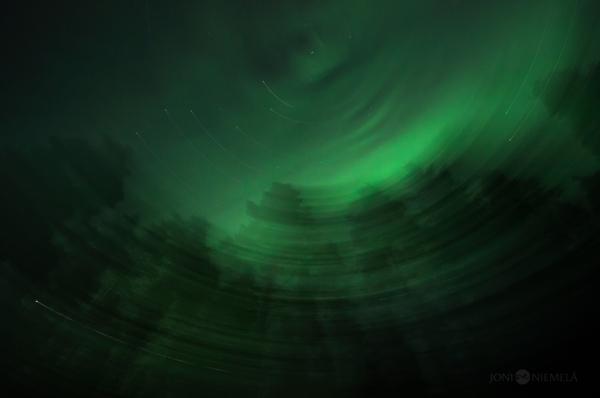 Aurora Borealis, photography by Joni Niemelä