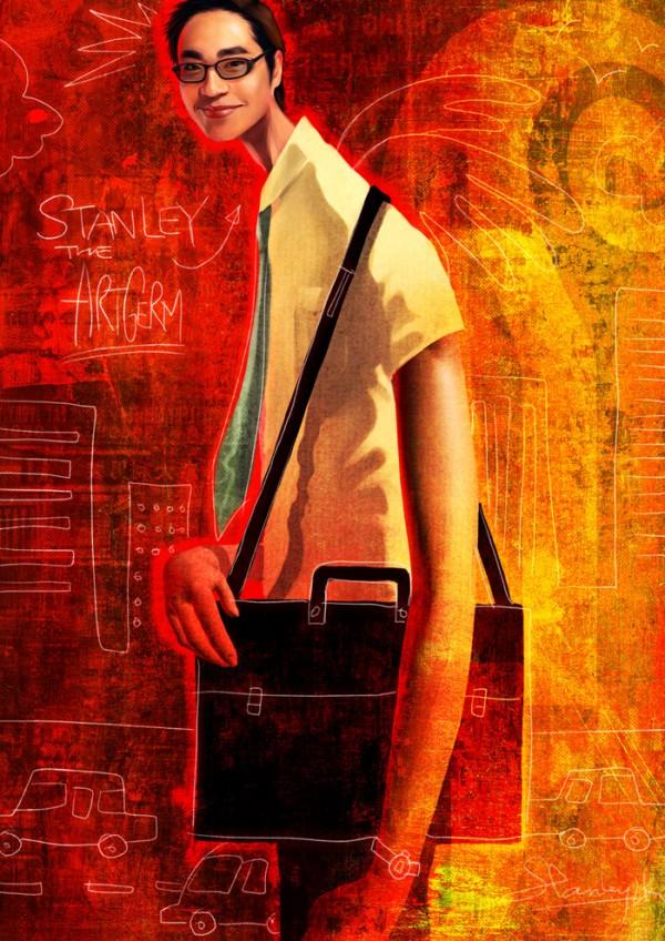 Digital art by Stanley Lau