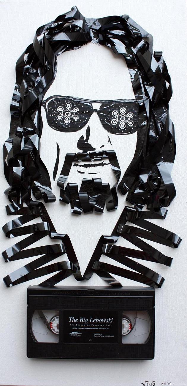 Creative tape art by Erika Simmons