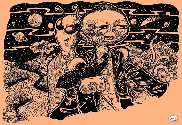Indian Aliens by Charbak Dipta