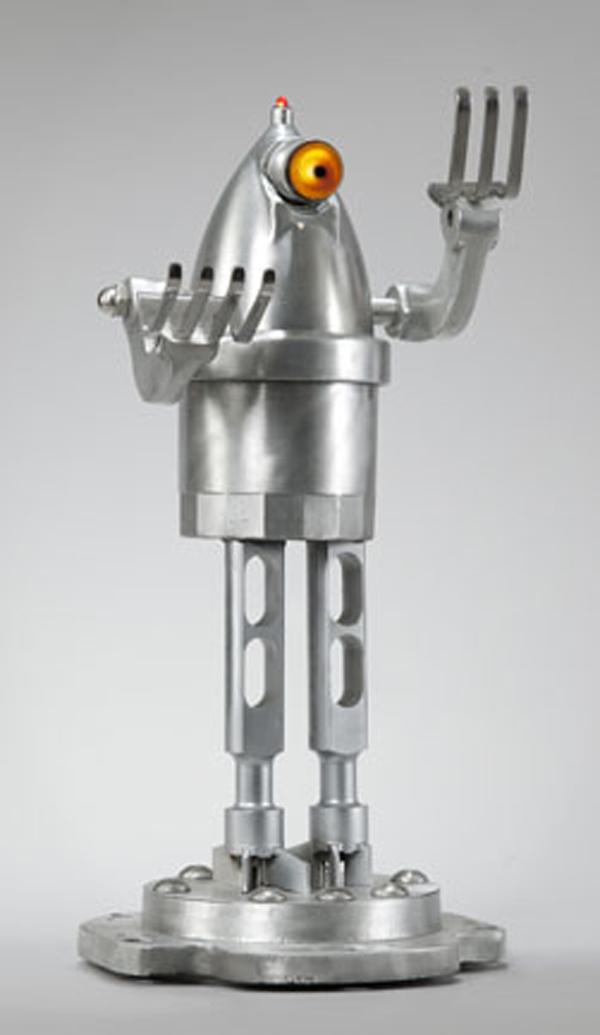 Robot and Sci-Fi Sculpture Night Lights by Tal Avitzur