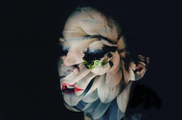 Romantic Collection, double exposure of flowers by Lara Kiosses