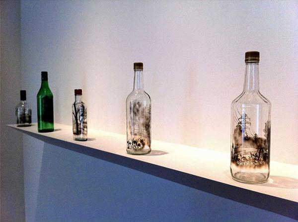 Amazing bottled smoke by Jim Dingilian
