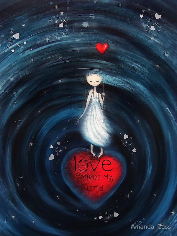 Art from the heart by Amanda Cass