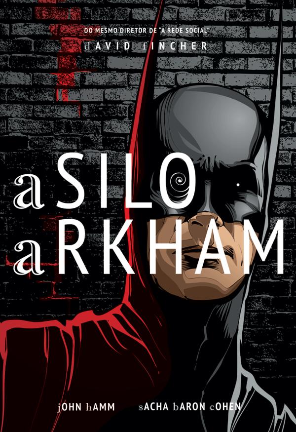 Batman alternative movie posters, editorial design by Cristiano Siqueira