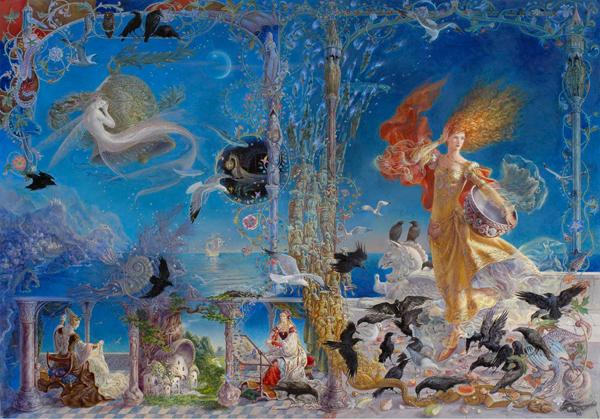 Fantasy and Mythology, illustration by Kinuko Y. Craft