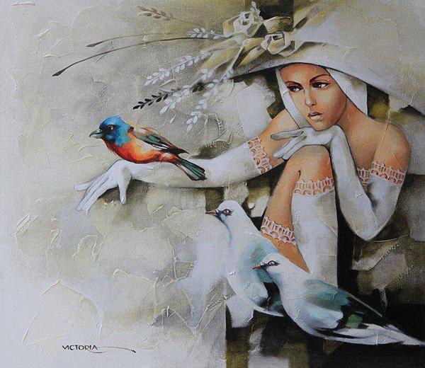 Victoria Stoyanova, paintings