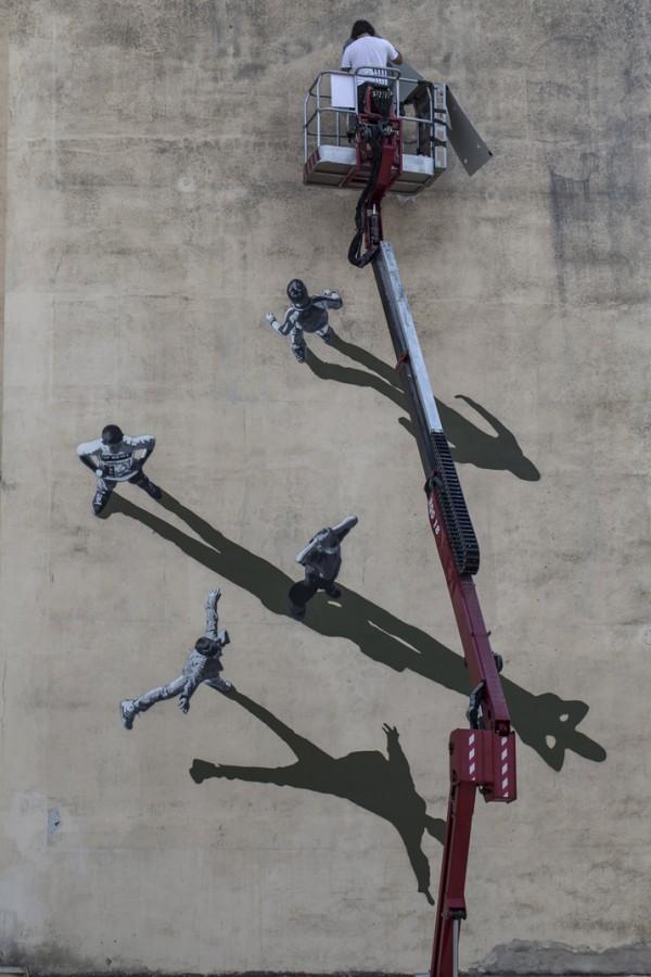 Memorie Urbane, street art by Anders Gjennestad