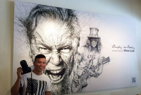 Movie Legend, illustration by Vince Low