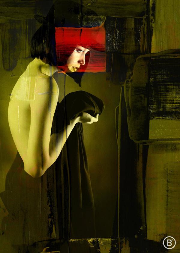 Digital photomanipulations by Bernhard Badie