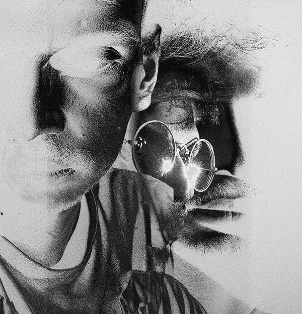 In between, self portrait series by Sushant Panchal