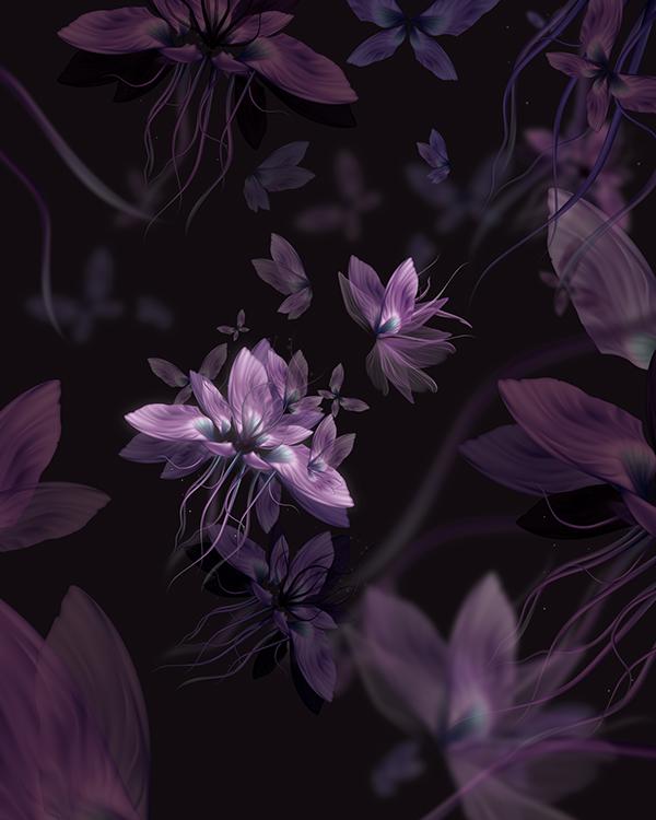 Fairy Dust, illustration by Daniel Lasso Casas