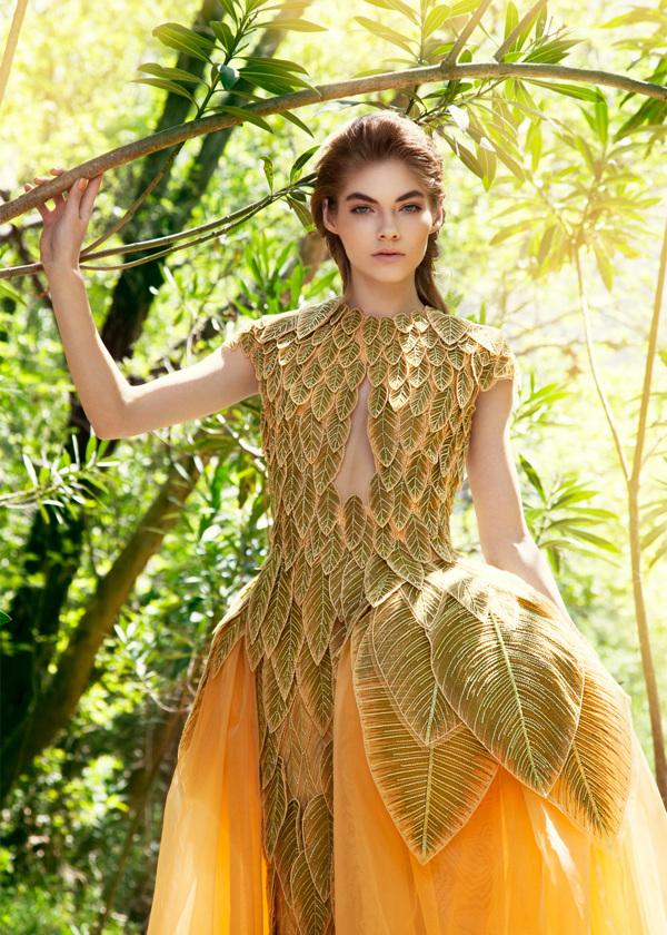Sabaji Couture, Ad Campaign SS 2014 for Jean Louis Sabaji