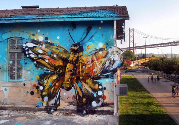 Urban landscapes by Bordalo II