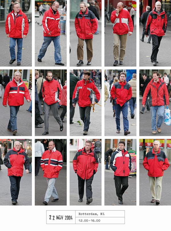 20 years of street photography by Hans Eijkelboom