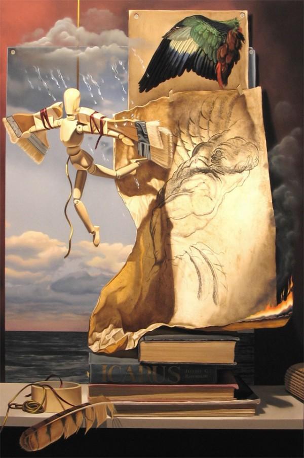 Jeffrey G. Batchelor, paintings