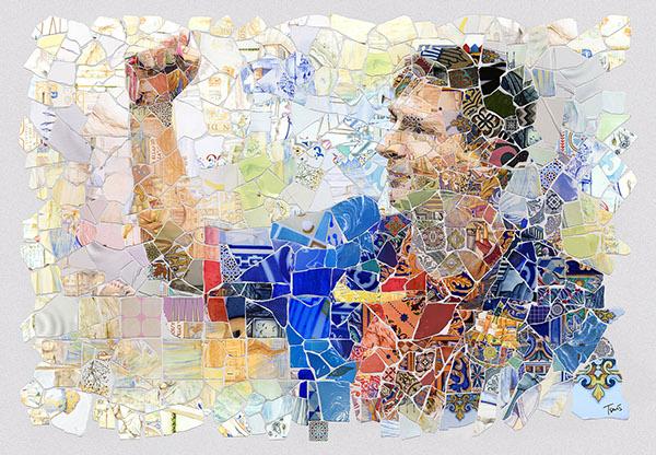 Lio Messi: Els fragments de Barcelona, project by Charis Tsevis