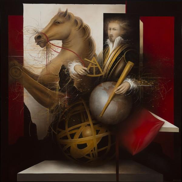 Paintings by Jean-Claude Dresse