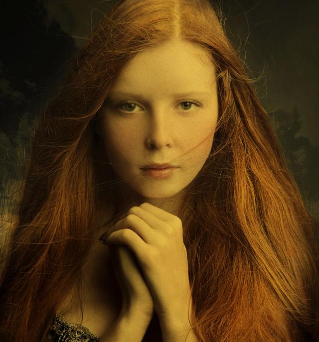 Stunning female portraits by Oleg Babkin