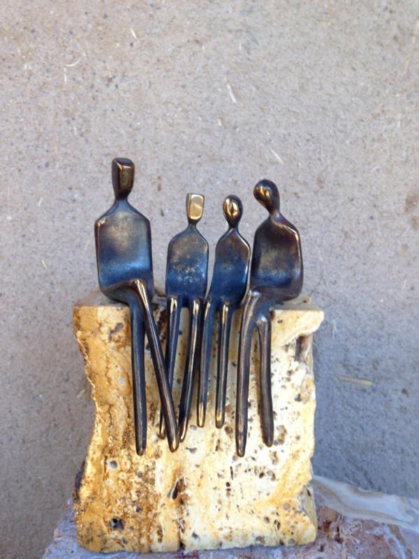 Yenny Cocq, bronze sculpture