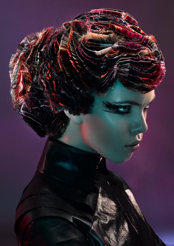 Darkness, Hair & Make-Up by Chris Schild