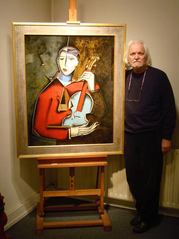 Ferdinand Pire, paintings