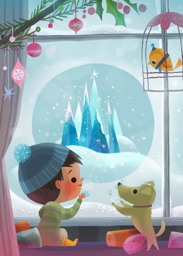 Joey Chou, illustration