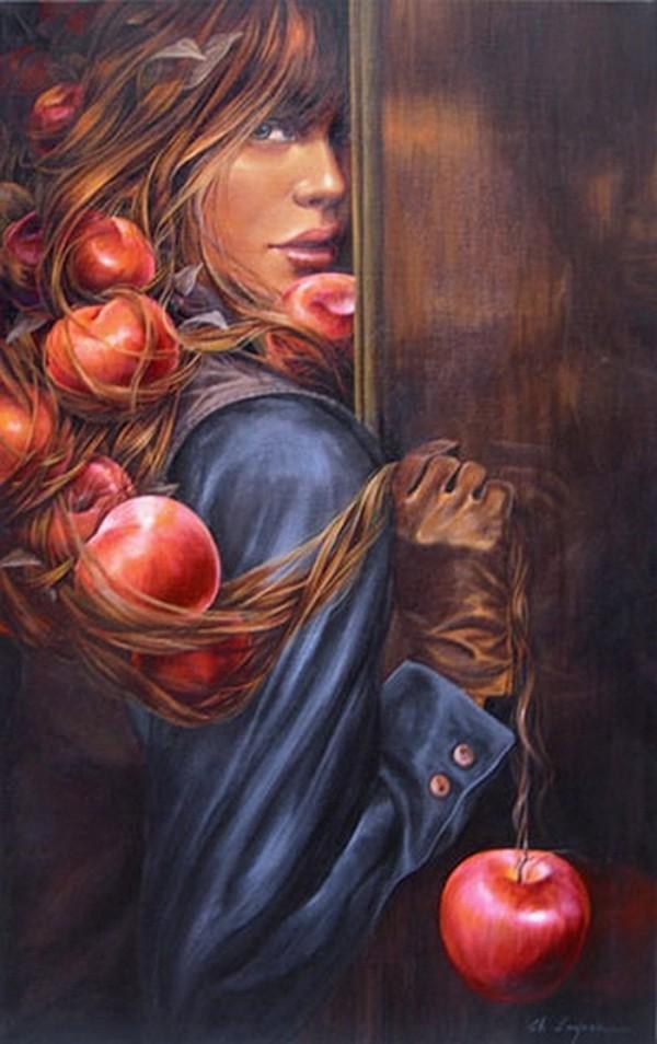 Paintings by Chelin Sanjuan