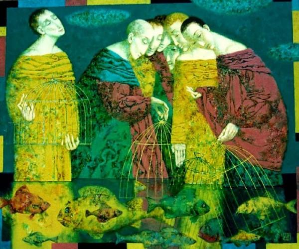 Pavel Antipov, paintings