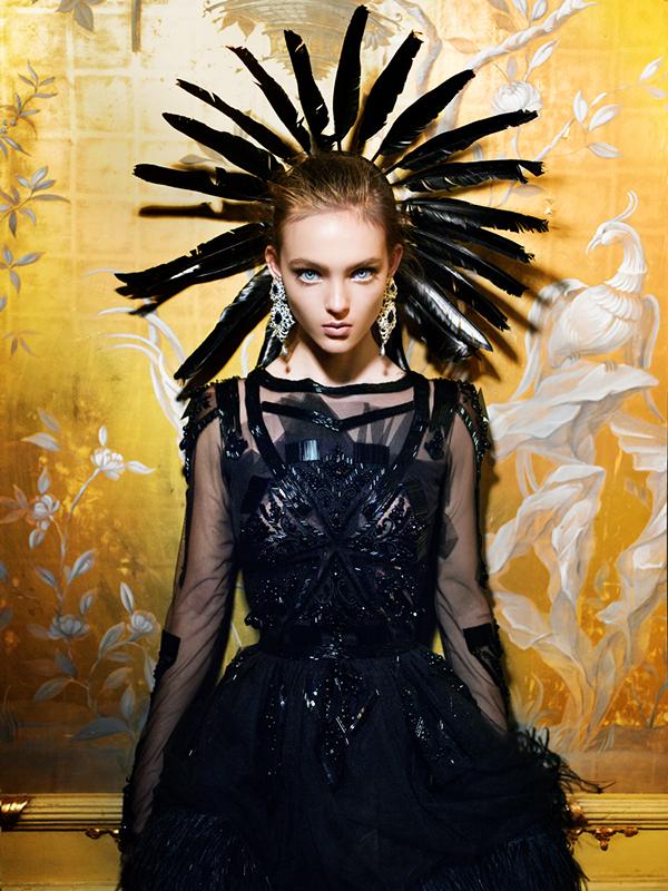 Phantom of the Opera by Marina Danilova for Faces Magazine Russia