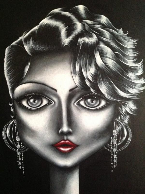 Sophie Bérot-Leroy, paintings