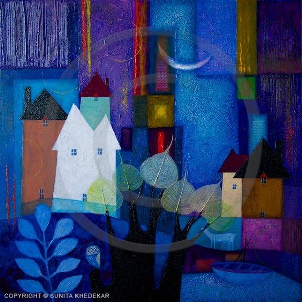Sunita Khedekar, paintings