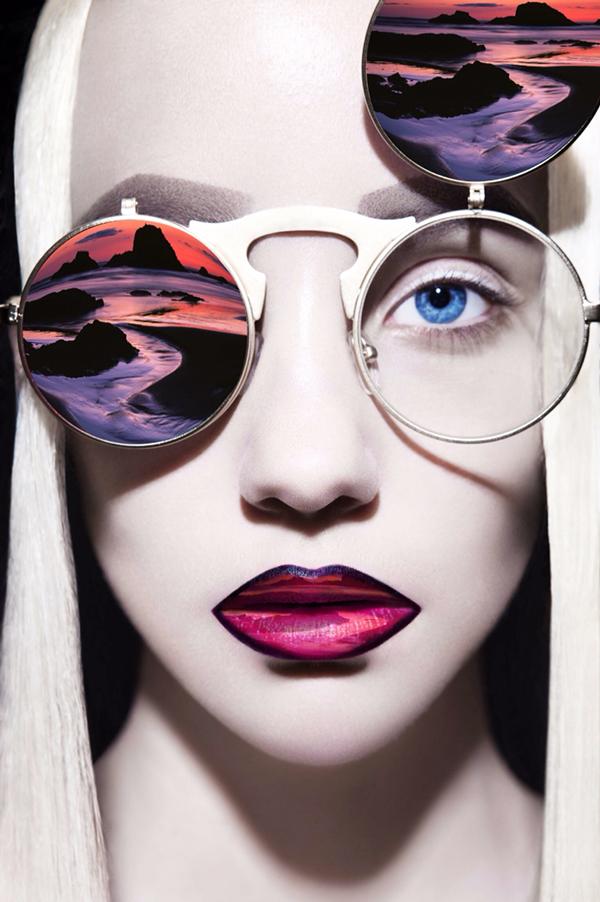 The world of the senses, fashion photography by Huainan Li