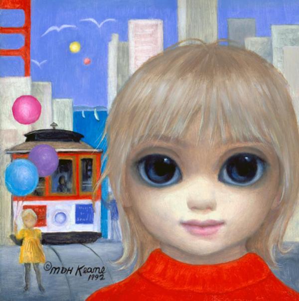Big Eyes, paintings by Margaret Keane