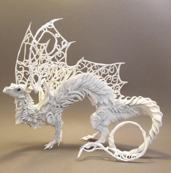 Fantastic sculptures by Ellen Jewett