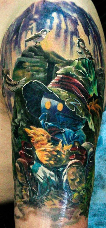 Iwan Yug's photorealistic tattoos